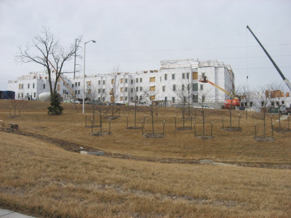 UMKC Student Housing Under Construction