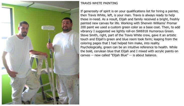 Travis White Painting